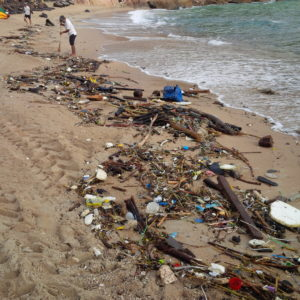 Thai Beach after a storm